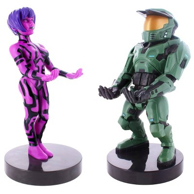 Halo Combat Evolved 20th Anniversary 2pk Cable Guy Phone and Controller Holder - Master Chief & Cortana