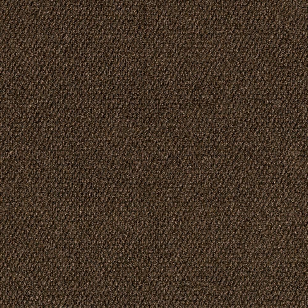 10pk Hobnail Extreme Carpet Tiles Mocha