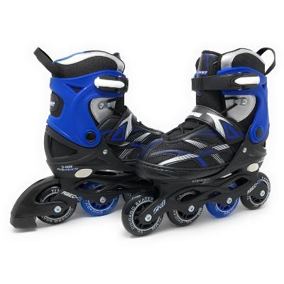 Chicago Skates Adjustable Kids' Inline Skates - Black/Blue