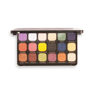 Makeup Revolution x DC Collection - Batman Flawless Eyeshadow Palette - This City Needs Me Forever - 0.5oz