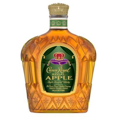 Crown Royal Regal Apple Flavored Whisky - 750ml Bottle