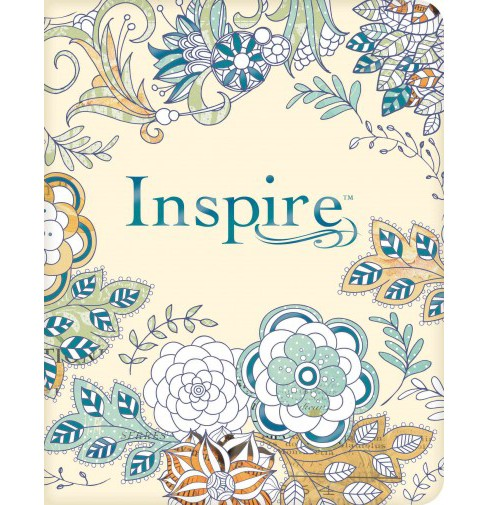 Inspire Bible : The Bible for Creative Journaling: New Living Translation (Paperback) - image 1 of 1