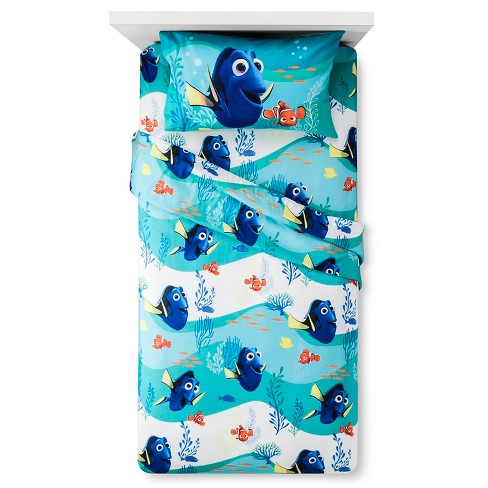 Finding Dory® Sheet Set Twin Blue - Finding Dory® - image 1 of 1