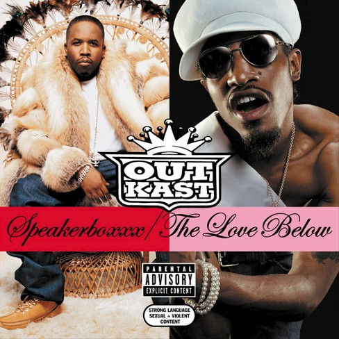 OutKast - Speakerboxxx/The Love Below [Explicit Lyrics] (CD) - image 1 of 1