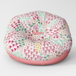 "35.5"" Jumbo Two Tone Removable Cover Bean Bag - Pillowfort™"