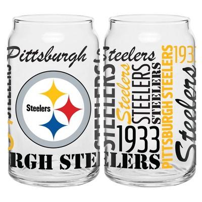 Pittsburgh Steelers 2pk Spirit Can Glasses