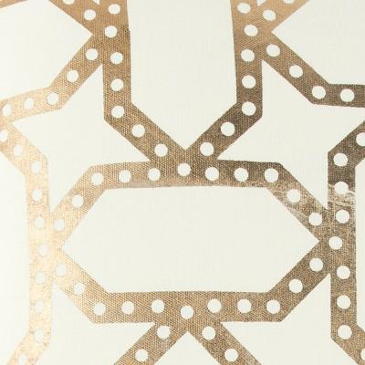 "20""x20"" Metalic Geometric Throw Pillow - Rizzy Home : Target"