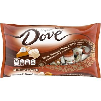 Dove Promises Halloween White Chocolate Pumpkin Pie Candy - 7.94oz