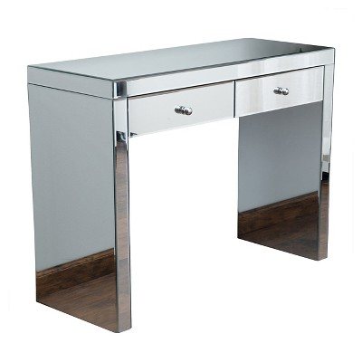 Roxie Mirrored Console Table Silver - Christopher Knight Home