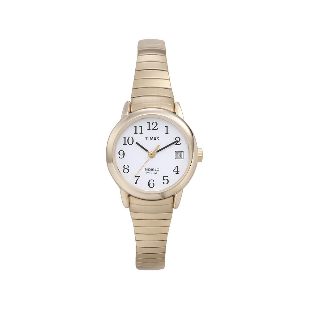 Women 39 S Timex Easy Reader Expansion Band Watch Gold T2h351jt