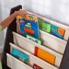 KidKraft 14229 Sling Canvas Kids Space Saving Wooden Bookshelf, Espresso/Natural - image 3 of 4