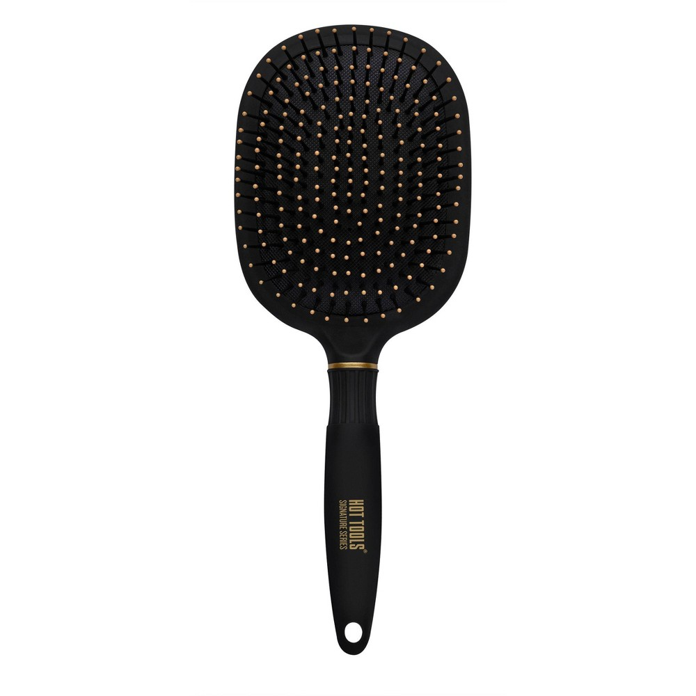 Image of Hot Tools Signature Series Extra Large Paddle Hair Brush, Black
