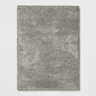 7'X10' Solid Eyelash Woven Shag Rug Gray - Project 62™