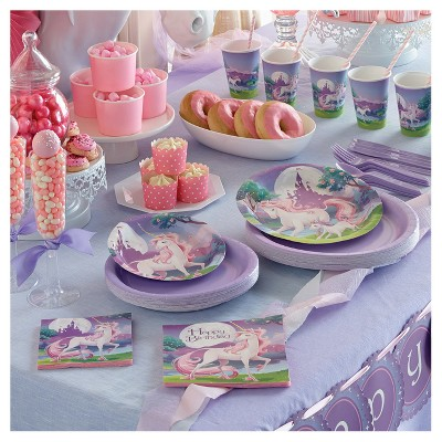 Unicorn Fantasy Birthday Party Collection Target