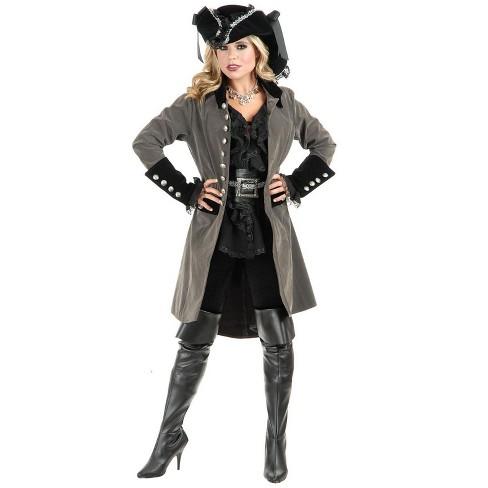 Charades Pirate Vixen Coat Costume (Size XL) - image 1 of 1