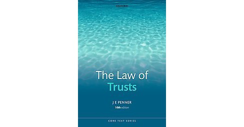 The Law of Trusts ( Core Texts Series) (Paperback) - image 1 of 1