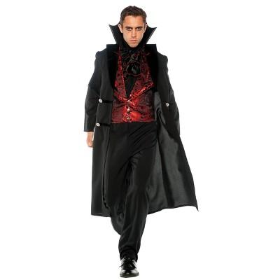 Adult Plus Gothic Vampire Halloween Costume 2X