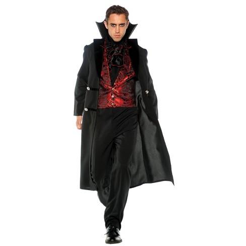 Adult Plus Gothic Vampire Halloween Costume 2x Target