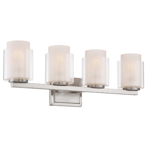 Eliseo 4 Light Vanity Wall Lights - Polished Steel - Lite Source - image 1 of 2