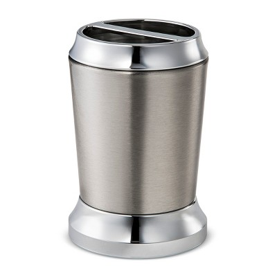 Solid Toothbrush Holder Split Finish Silver - Threshold™