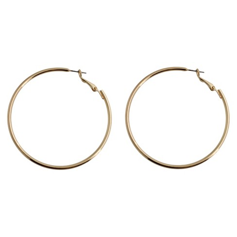 Hoop Earring - Gold/Gold - image 1 of 2