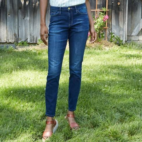 Women's Mid-Rise Skinny Jeans - Universal Thread™ Dark Wash - image 1 of 4