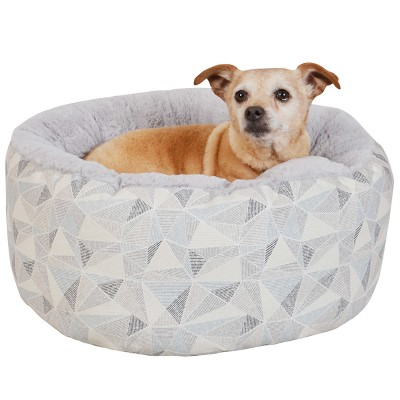 Mattress Cuddler with Handle Dog Bed - Grey - Medium - Boots & Barkley™