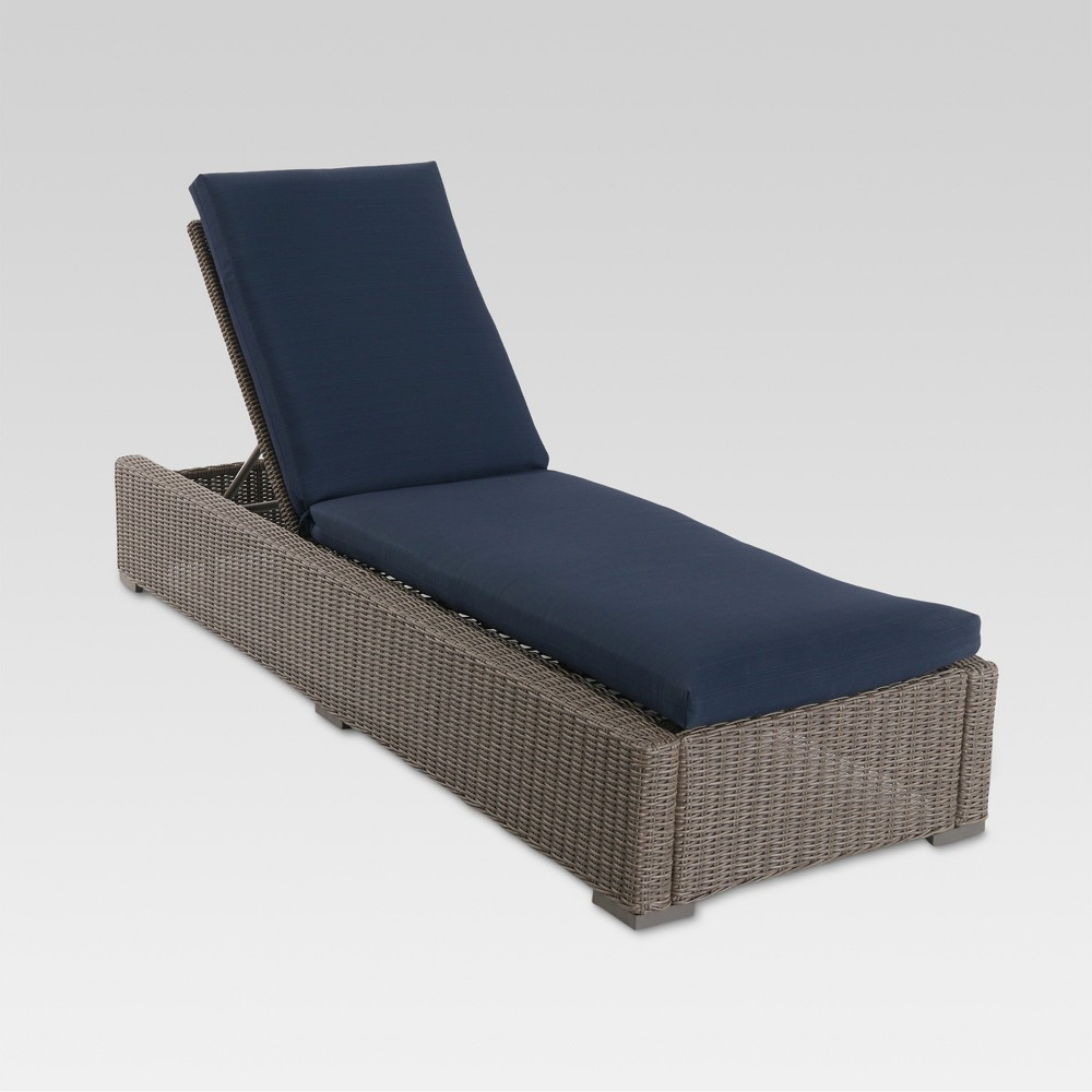 Upc 848681035993 product image for patio chair lounge heatherstone wicker steel lounge chair 77