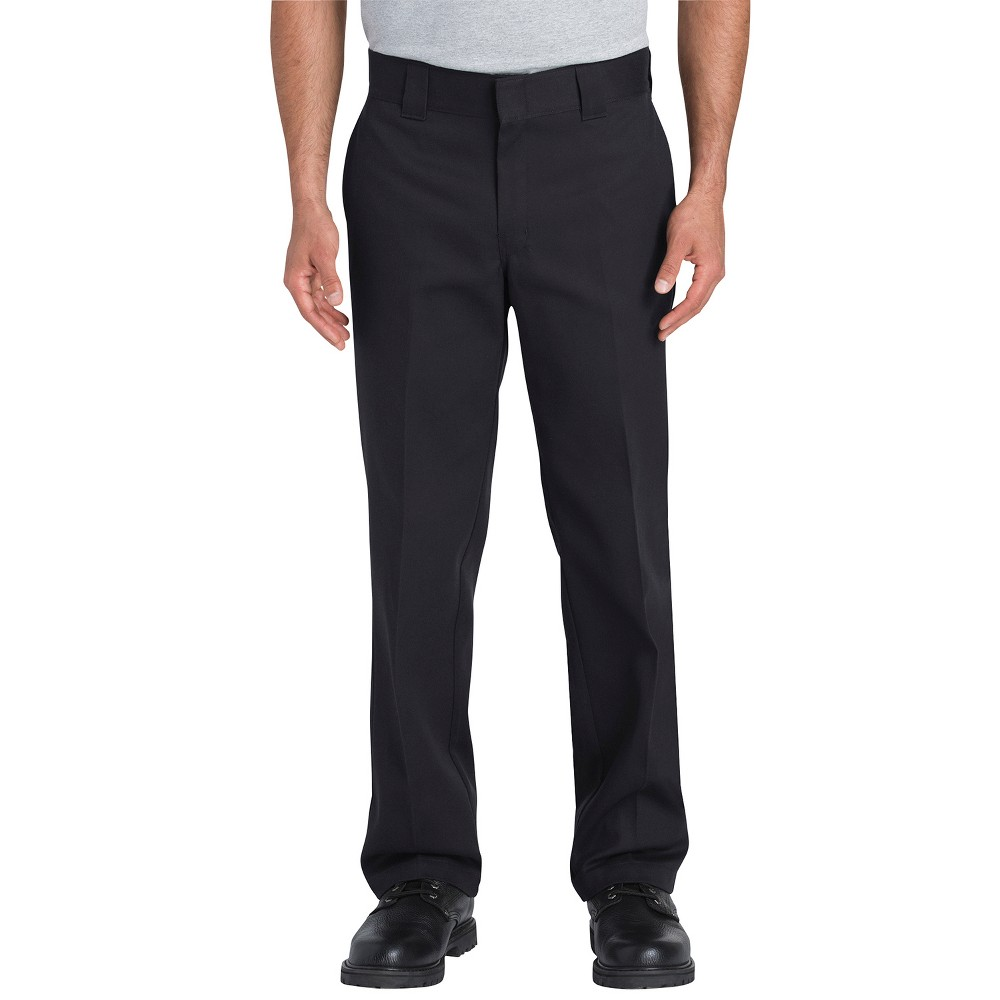 Dickies Men's Flex Slim Straight Fit Pants - Black 32x34