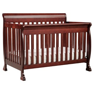 DaVinci Kalani 4-in-1 Convertible Crib - Cherry, Rich Red
