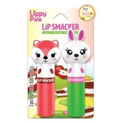 Lip Smacker Lippy Pals Fox and Bunny Lip Balm -.28oz