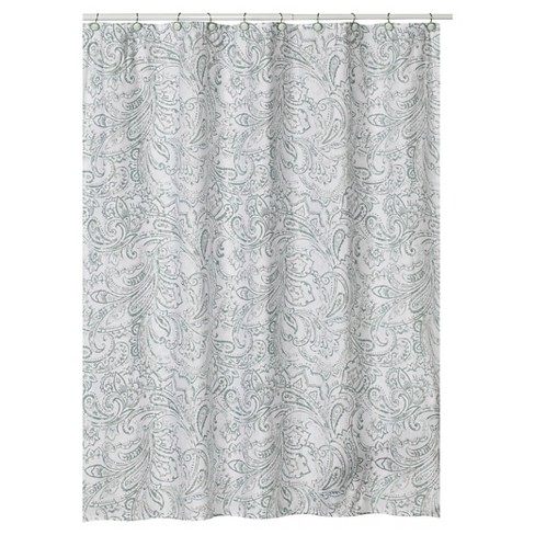 Beaumont 100% Shower Curtain White - Creative Bath® - image 1 of 1