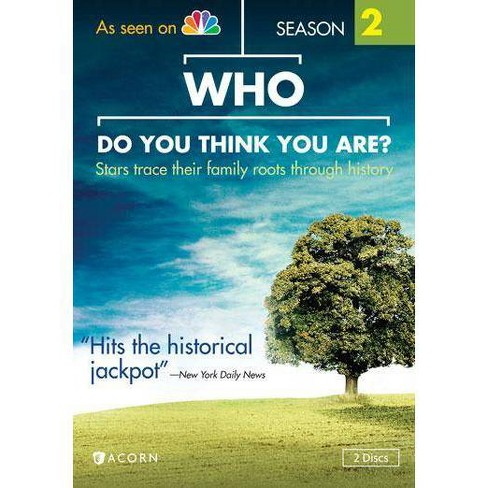 Who Do You Think You Are? Season 2 (DVD) - image 1 of 1