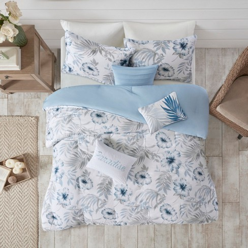 Cadenza Cotton Printed Comforter Set - image 1 of 12