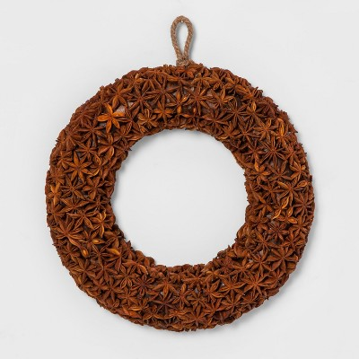 Wreath Dried Dark Orange - Smith & Hawken™