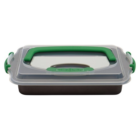 """Berghoff Perfect Slice Covered 9""""x13"""" Cake Pan with Tool - image 1 of 2"""