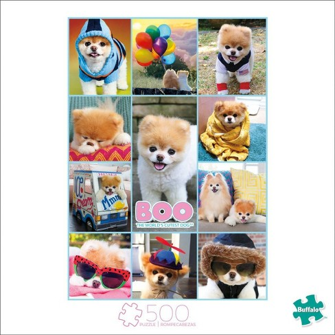 Buffalo Games Art of Play: Boo The World's Cutest Dog Collage Puzzle 500pc - image 1 of 2
