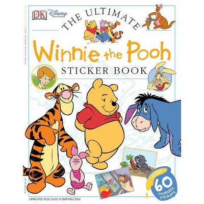 Ultimate Sticker Book: Winnie the Pooh - (Mixed media product)