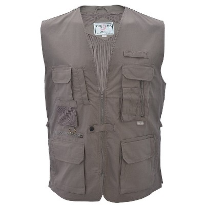 FoxFire Men's Hiking Vest for Photography and Travel