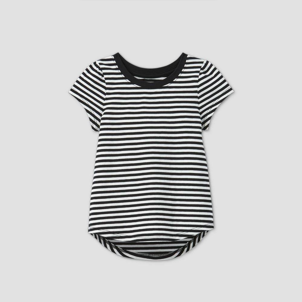Top Toddler Girls' Striped Short Sleeve T-Shirt - Cat & Jack™