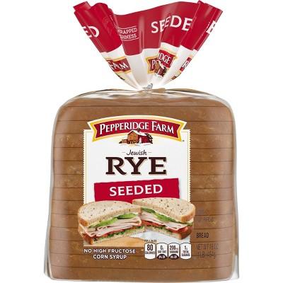 Pepperidge Farm Jewish Rye Seeded Bread - 16oz