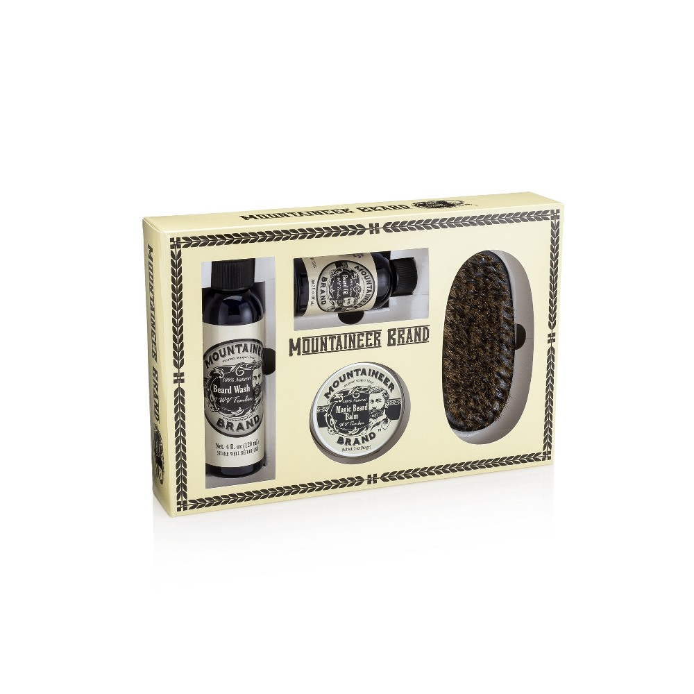 Image of Mountaineer Brand WV Timber Complete Beard Care Kit