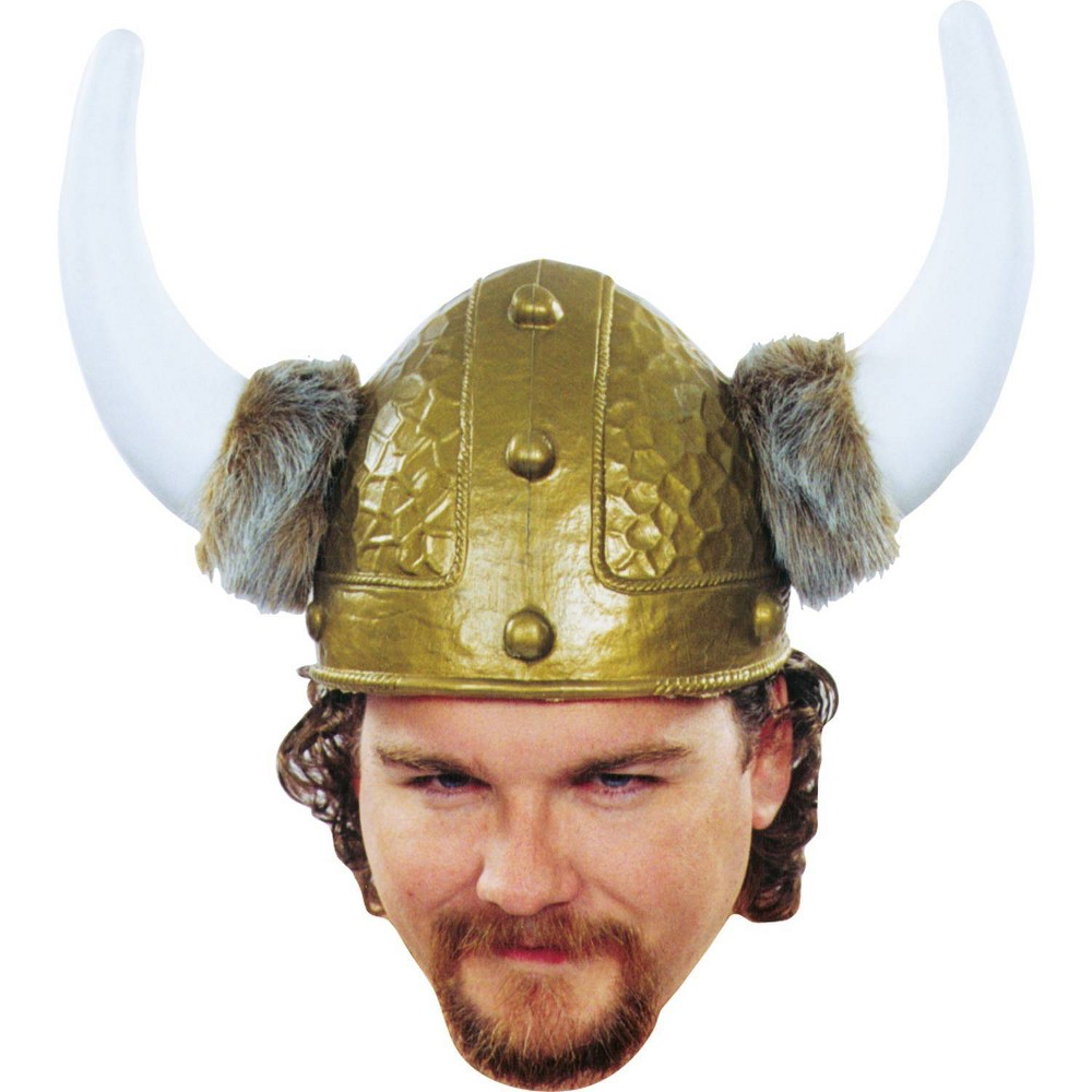 Image of Viking Helmet Gold