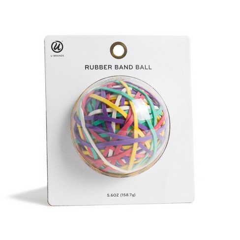 Rubber Band Ball 275ct Multicolor - U-Brands - image 1 of 4