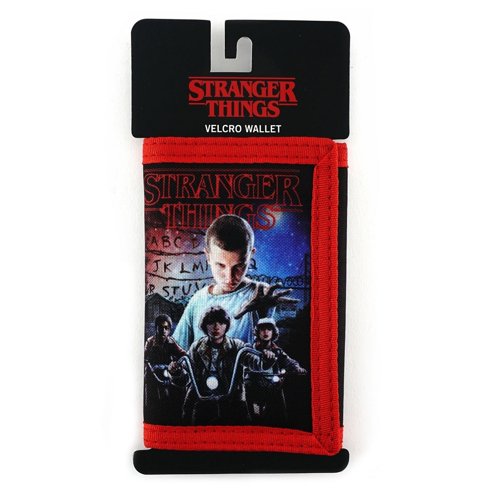 Loungefly Stranger Things Eleven Hand Char Wallet, Adult Unisex, Black