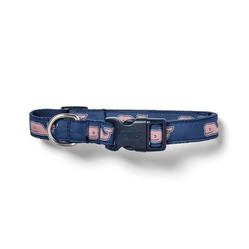 Pink Whale Dog Collar - Navy - vineyard vines® for Target - image 1 of 3