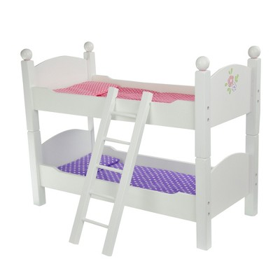 """Olivia's Little World - Little Princess 18"""" Doll Furniture - Double Bunk Bed"""