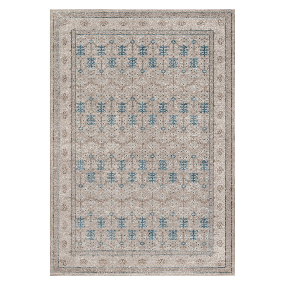 Best Shopping 2X3 Floral Loomed Accent Rug Taupe Brown Momeni