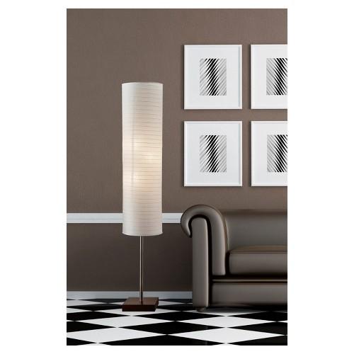 Gyoza Floorchiere - Walnut (Lamp Only)