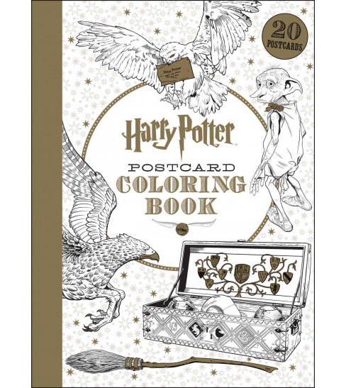 Harry Potter Postcard Coloring Book (Stationery) (J.K. Rowling) - image 1 of 1